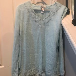 Lilly Pulitzer Linen Blouse